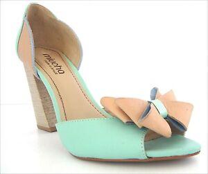 scarpe Brazil Eur Made 10 pelle Taglia Heeled donna in da 41 Miucha In Nuove Rqd14Bxq