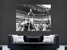 Diego Maradona década 1986 México Copa del Mundo Fútbol de imagen imagen grande Poster Gigante