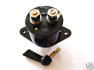 Hauptschalter Traktor RS09 GT124  Batterie Schalter Batteriehauptschalter