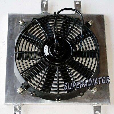 """12/"""" Fan 1992-2000 Honda Civic Mishimoto Aluminum Radiator Fan Shroud Kit"""