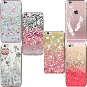 Thin-Sand-Soft-TPU-Silicone-Case-Cover-Funda-Carcasa-For-iPhone-5-7-6-6s-Plus-SE