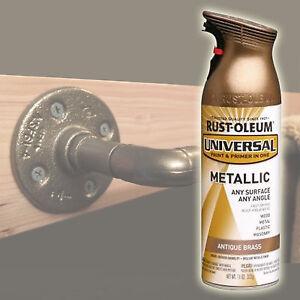 Rustoleum Rust Oleum Metallic Spray Paint Antique Brass