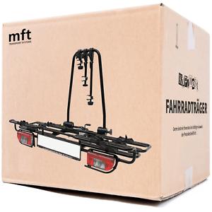 MFT Multi-cargo2-family Fahrradträger für 2 Fahrräder auf die Anhängerkupplung