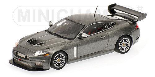 Jaguar XKR GT3  gris  Metallic  2008 (Minichamps 1 43   400081390)  connotation de luxe discret