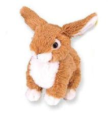 """Fuzzy Bunny 6"""" Tan Stuffed Animal by Wild Republic 3+ Boys & Girls 16594"""