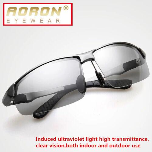 Polarized Mens Sunglasses Night Vision anti glare Driving Fishing Yellow Glasses