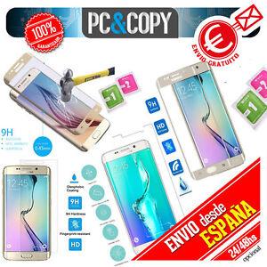 Protector-Pantalla-CRISTAL-TEMPLADO-Samsung-Galaxy-S6-S7-Edge-Plus-CURVO-COMPLET