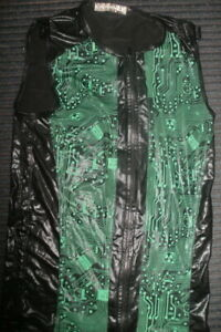 Cyber-Black-PVC-and-Neon-Green-Circuitboard-Vest-top