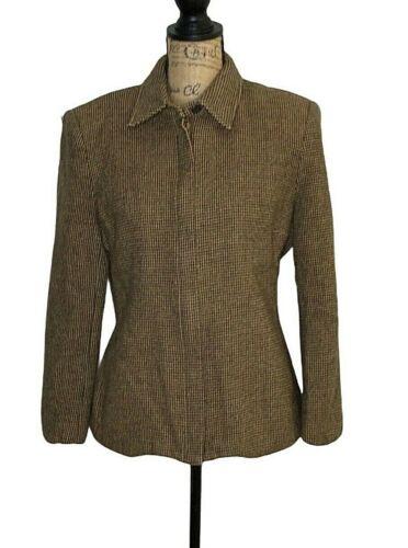 Vintage Lauren Ralph Lauren Womens 100% Wool Brown