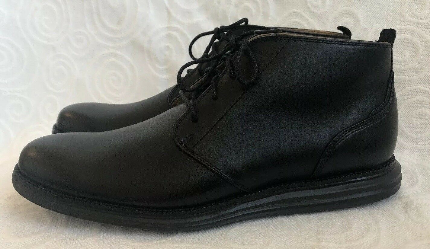 Cole Haan C20738 Vestido Llano Toe Original Grand Chukka botas para hombre nos 10M