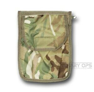 BRITISH-ARMY-A6-NIREX-FOLDER-HOLDER-COMMANDER-MULTICAM-MTP-NYREX-WATERPROOF