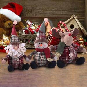 Christmas-Doll-Santa-Claus-Snowman-Ornament-Festival-Party-Xmas-Table-Decor-Gift
