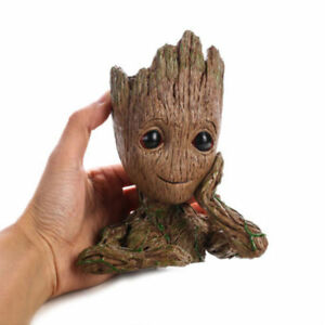 "Guardians of The Galaxy Vol.2 Baby Groot 6.2"" Figure Flowerpot Plant Pot Gift"