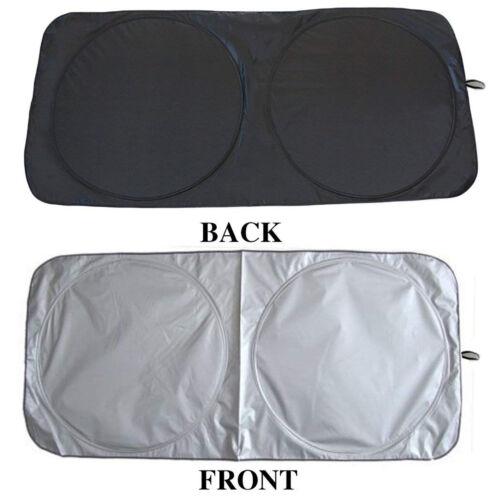 Folding Jumbo Front Car Window Sunshade Auto Sun Visor Windshield Cover 150*80CM