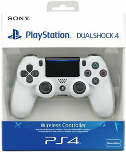 CONTROLLER PS4 DUALSHOCK 4 V2 BIANCO WHITE PLAYSTATION 4 NUOVO SONY