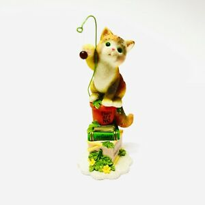 VINTAGE 1999 Enesco CALICO KITTENS - There Are No Ordinary Cats... - LE Figurine