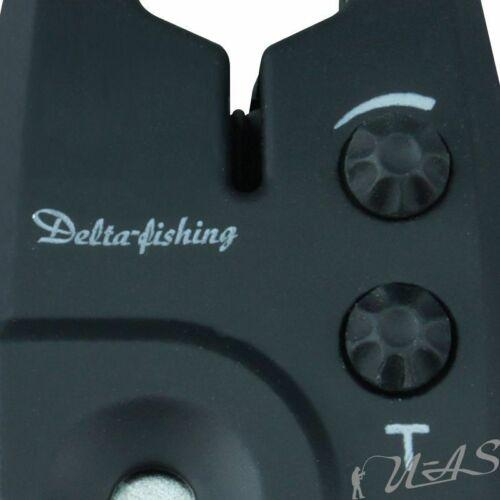 Delta Fishing Elektronischer Biss Anzeiger Grün Ton /& Lautstärke Einstellung