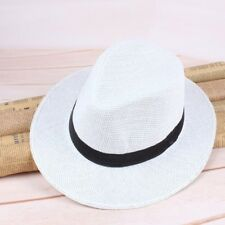 3e3c5311b88 item 2 Men Fashionable Straw Panama Hat Handmade Cowboy Cap Summer Beach  Travel Sunhat -Men Fashionable Straw Panama Hat Handmade Cowboy Cap Summer  Beach ...