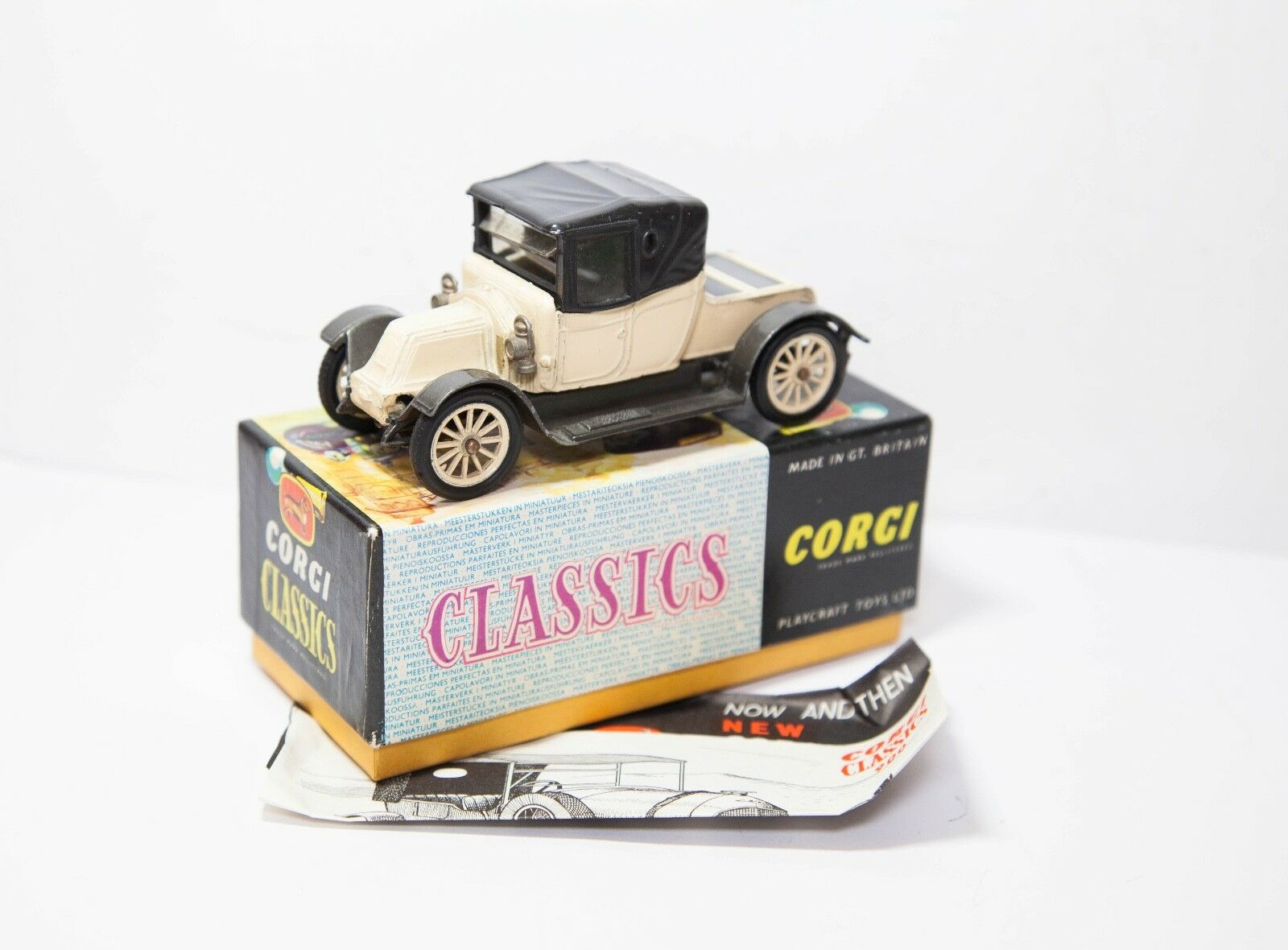 Corgi Classics no. 9032 1910 Renault In Original Box - Excellent Vintage Diecast