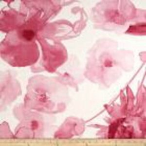 Details About Large Scale Pink Floral Drapery Upholstery Fabric By Braemore Adagio Cl Petal