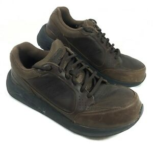 f2c7a74a10068 GUC Men's New Balance 928 Comfort Walking Shoes Brown leather Sz 10 ...