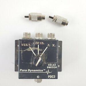 Para Dynamics Co Ax Switch Pdc3 Hd Cb Ham Radio Antenna Great Condition Ebay