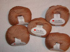 5 SKEINS -GEDIFRA - CASHMERINO YARN. Cashmere~Merino Wool~Acrylic. CAMEL -#1404