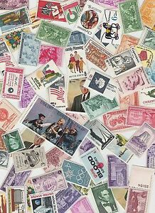 Lot-of-20-different-MINT-US-Postage-Stamps-Vintage-Packet-MNH-unused