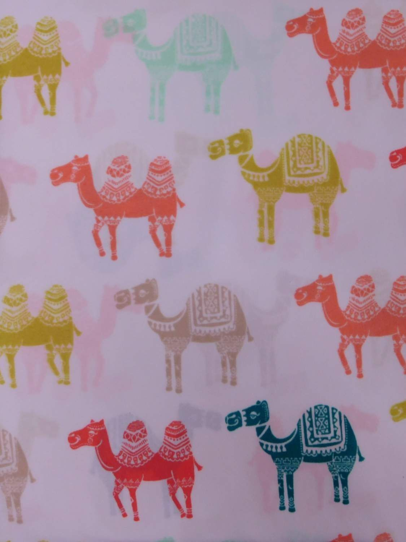 Pillowfort Sheet Set colorful Camels Full Bed Size Microfiber Sheets Bedding