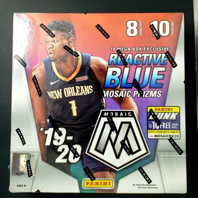 2019-20 Panini Mosaic NBA Basketball Trading Cards Mega Box - Brand NEW - SEALED