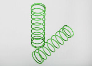 Traxxas-1-10-Stampede-2WD-XL-5-2-FRONT-GREEN-SHOCK-SPRINGS-3758A