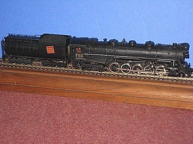 PFM Brass HO: Central Vermont 2-10-4 type T-3a steam loco Painted C-7ob sc