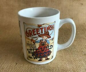 1-Coffee-Mug-Cup-Greetings-from-the-Wild-Wild-West-Mary-Engelbreit-Collectible