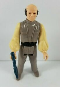 Vintage-1980-Kenner-Star-Wars-ESB-Figure-Lobot-Cloud-City-Hong-Kong-with-Blaster