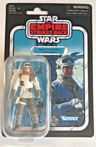 3.75 Inch Figure New 2018 Hoth Star Wars Vintage Collection Rebel Soldier
