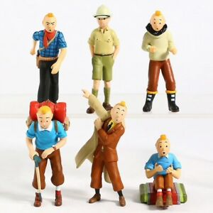 LOT-DE-6-FIGURINES-TINTIN-JOUET-COLLECTION-5-a-8-cm
