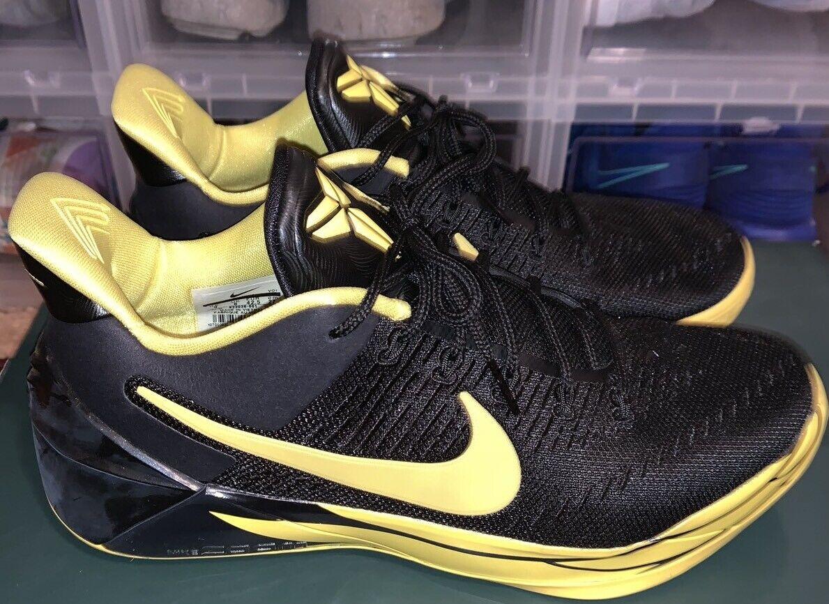 Nike Kobe A.D. Oregon Ducks Black Yellow