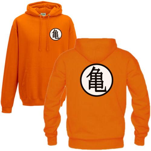 Turtle Training Symbol Hoodie - Dragon Z Inspired Anime Fan Gift Men Hoody Top