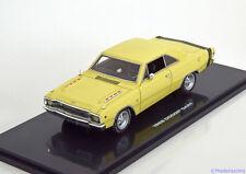 1:43 Highway 61 Dodge Dart 1968 lightyellow/black