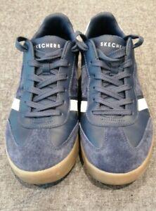 Nombre provisional ego Síntomas  Skechers Mens Zinger Scobie Stylish Comfortable Suede Lace Up Trainers size  7.5   eBay