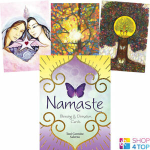 Namaste-Blessing-Divination-Cards-Deck-Toni-Carmine-Salerno-Blue-Angel-New