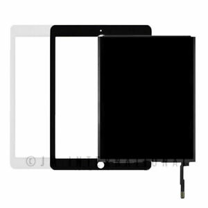 Digitizer Screen Replacement for iPad 2017 iPad 5 Gen 9.7 Inch A1822 A1823 Touch Screen Glass Panel with Home Button Repair Parts for iPad5 Touchscreen Free Tools Kits White with Home Button