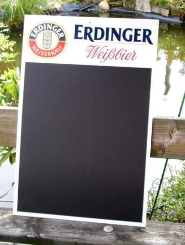 75x50 cm Werbeschild Werbetafel Kreidetafel Erdinger Weißbier