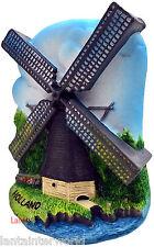 Holland Windmills Netherland Europe Refrigerator 3D Fridge Magnet Souvenir Mill