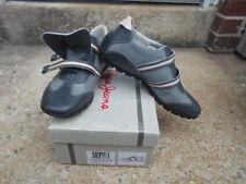 Pepe Jeans LONDON  PIACENZA LEATHER SUED FLINT GRAY/STEEL shoes SZ EU 39 US 8.5