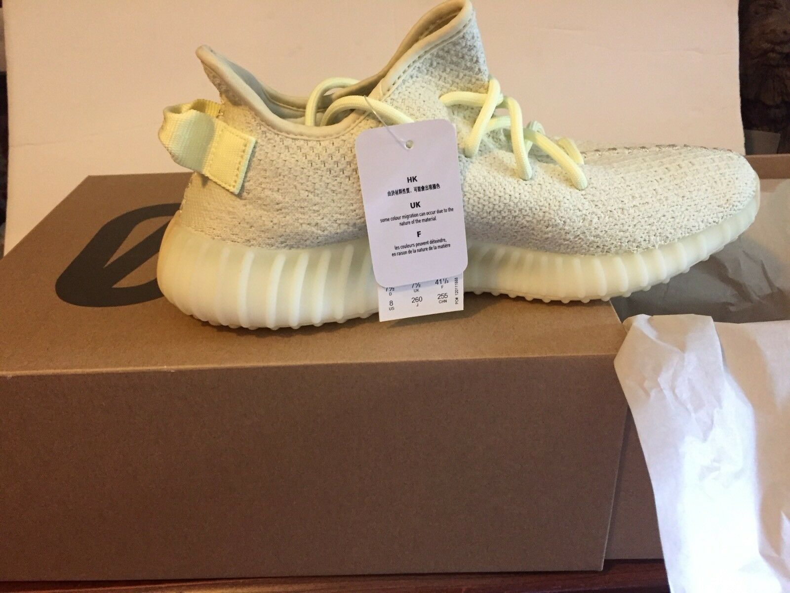 Adidas Yeezy Boost 350 V2 Butter Size  8