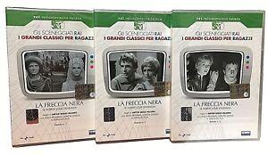 3-Dvd-Sceneggiati-Rai-LA-FRECCIA-NERA-con-Reggiani-L-Goggi-A-Foa-completa-1968