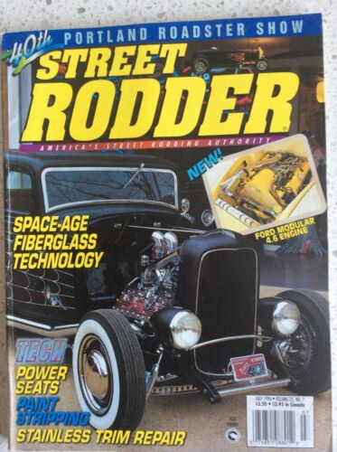 Street Rodder Magazine Vol 25 No 7 July 1996
