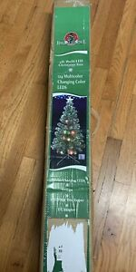 Home Accents Holiday 4 ft. Pre-Lit Douglas Artificial Christmas Porch Tree