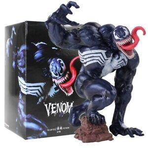 Spiderman-Figur-Venom-Black-Spider-Mann-Eddie-Brock-Modell-Puppen-Spielzeug-Kinder